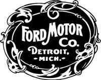 Логотип Ford Motor Company. 1903